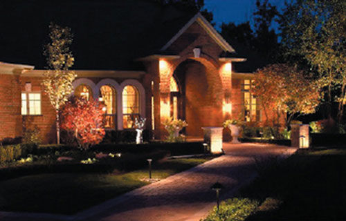 Landscape lighting design greenvista landscaping landscape lighting design mozeypictures Image collections