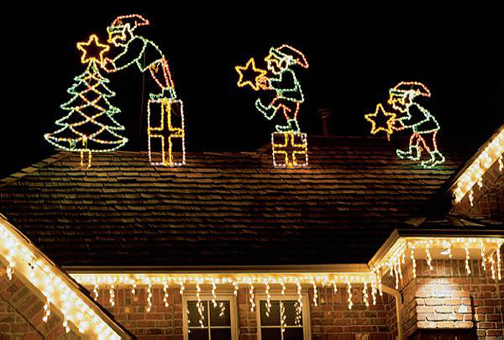 Christmas Lighting Design Greenvista Landscaping