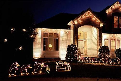 Christmas lighting design greenvista landscaping
